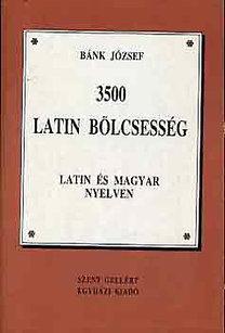 Bánk József: 3500 latin bölcsesség PDF