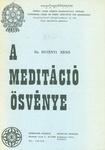 Dr. Hetényi Ernő – A meditáció ösvénye PDF