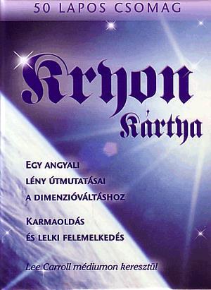 Kryon kártya, 50 lapos csomag - egy angyali lény útmutatásai a dimenzióváltáshoz JPG